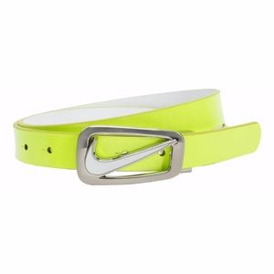 Nike Women's Swoosh Cutout Skinny Reversible Belt